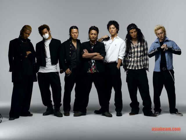 Sobre los grupos delincuentes. [Inscripciones] Crows-serizawa-posse