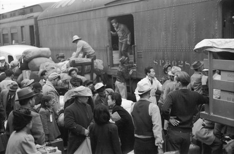 internment camps for japanese americans. of the Japanese-American